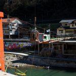 吊り橋工事3